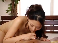 a sexy pecker engulfing pov style starring