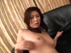 nasty japanese mom receives double penetration by