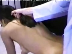 indian wench nadia checked by doctor and drilled