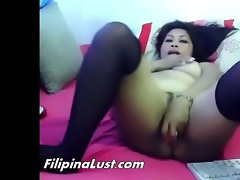 chunky oriental doxy fucking herself