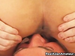 oriental doxy anal screwed whilst riding her