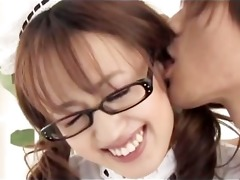 avmost.com - four eyed japanese hottie sexing