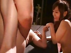 a japanese drunk party fuckfest