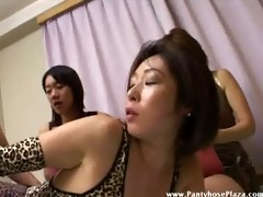 crossdresser bonks headmistress in front of other