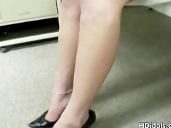 whore of a teacher close up masturbation part6