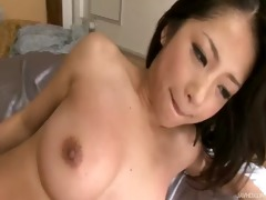 satomi has her furry vagina caressed and screwed