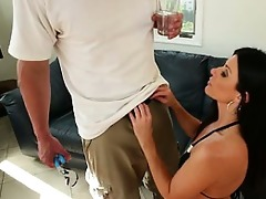 female-dom sweetheart india summer blows handyman