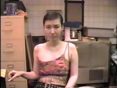 domme sayako sucks dick in the basement of a bar 3
