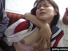 great japanese slit licking act in train