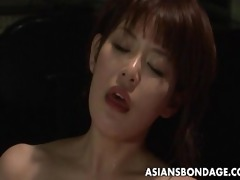 oriental babe acquire her privates overspread in