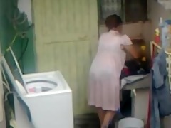 spying aunty ass washing ... large ass fat