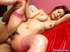 breasty yuki aida nailed with creampie