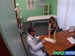 fakehospital sexy 28s gymnast tempted by doctor