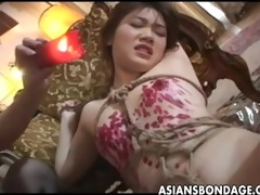 wicked oriental sweetheart bound up and drenched