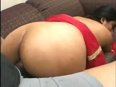 delightsome indian girl with a great ass sucks