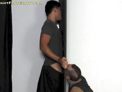 aaron at the gloryhole