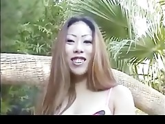 ayako is back and is willing to engulf threesome