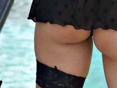softcore oriental swimsuit tease