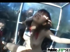 asians japanese getting hard fucked in public