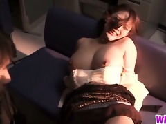 breasty japanese playgirl receives her boobs