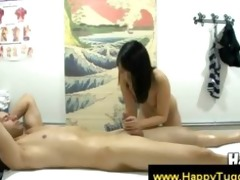 oriental masseuse suggests a oral
