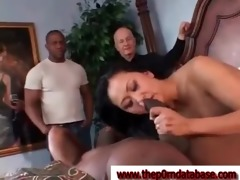 wife gives her husbands ally a fellatio