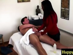 real oriental masseuse jerking cock