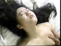 lusty oriental gets cum-hole screwed with fake