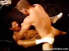 cbtfuck oriental muscle man drilled by a hot