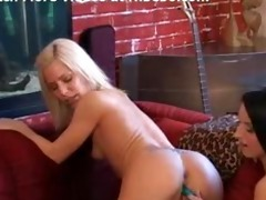 valuable youthful lesbo have wild sex