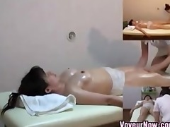 oriental gal rubbed and fingered