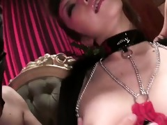 hawt and sexual fetish scene with japanese