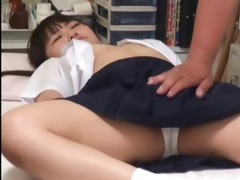 japanese schoolgirl (311+) drilled during medical