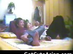 chinese couple spy cam oriental non-professional