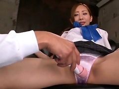 erena aihara has her lovely snatch toyed inside