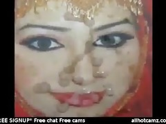 gman cum on face of a pakistani doxy in hijab