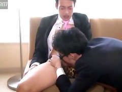 hawt homosexual japanese guys foreplay, wanking