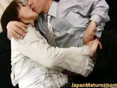 older real oriental woman getting part2