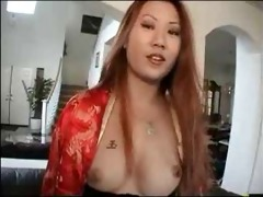 chinese beauty sin nye drilled by american weenie