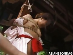 japanese slavery movie scene rope and fastened