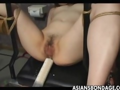japanese serf acquires cunt filled by cum