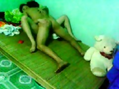 vietnamese pair on daybed