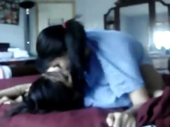 lesbo asian nubiles play around at home 2