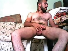 turkish with a large balls &; tool